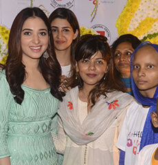 Helping Hands Happy Tamannah Bhatia